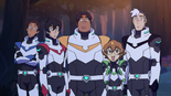 Team Voltron in Olkarion