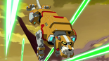 28. Yellow Lion dodging lasers