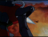 Ep.29.112 - Devilburn trying to hit Golion