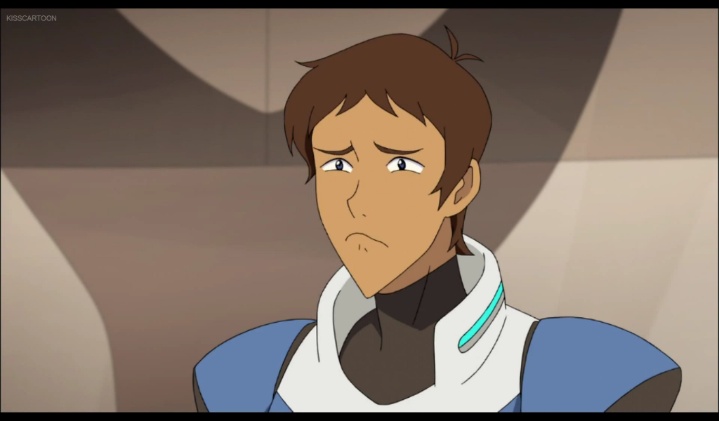 Lance Reminds Himself About Earth And His Family