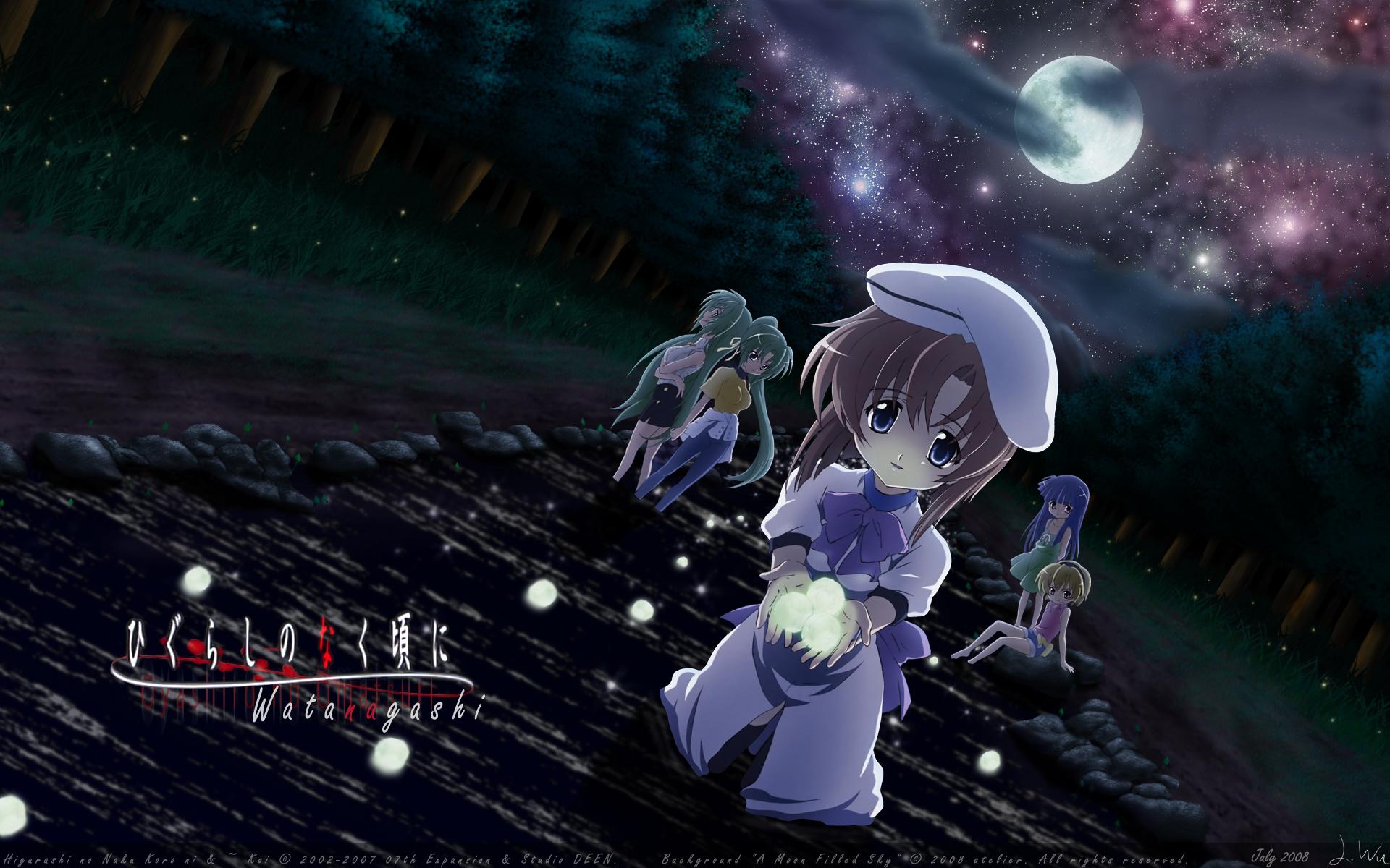 Výsledek obrázku pro higurashi no naku koro ni