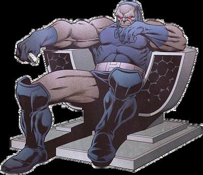 Darkseid render by quauntonaut