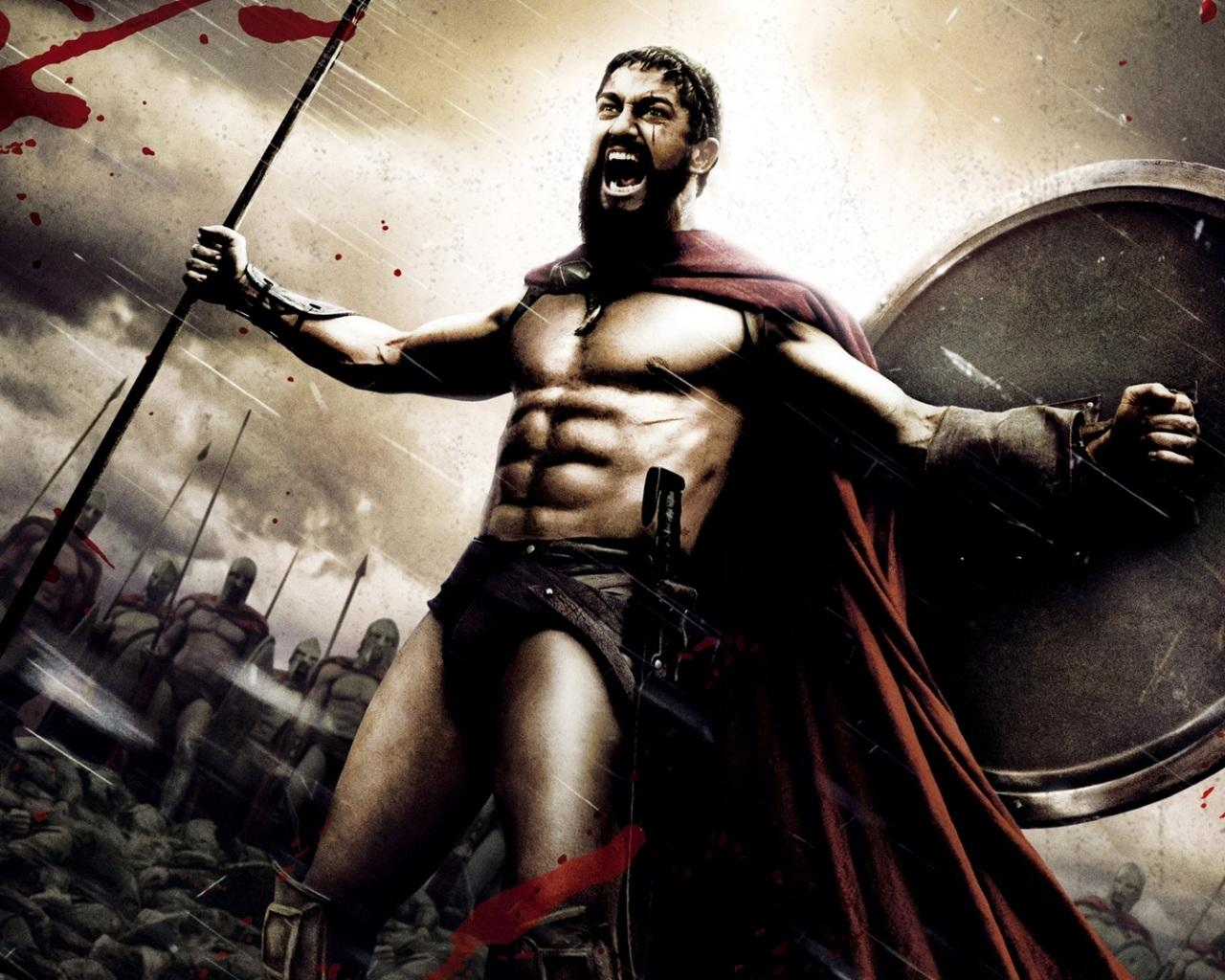 "Death scene of Leonidas from ""300"" - YouTube"