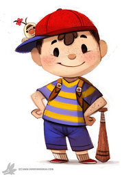 Daily painting 765 ness for muh friend by cryptid creations-d8b97r0 (1)