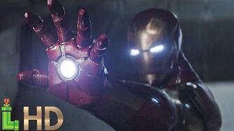Iron Man ALL FIGHT Scenes - Captain America Civil War HD-2