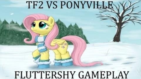 Tf2 Vs PonyVille - Fluttershy (VSP Wiki) new-0