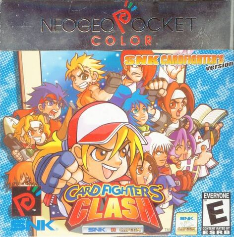 File:Snk vs Capcom Card Fighters Clash SNK NGPC.jpg