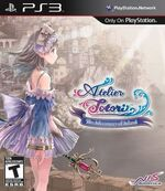 Atelier totori adventurer of arland ps3 box