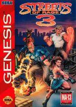 Streets of Rage 3 boxart