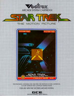 Star Trek The Motion Picture Vectrex cover