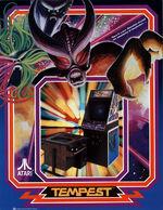 Tempest arcade flyer