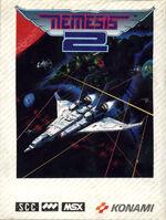 Nemesis 2 MSX cover