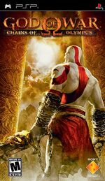 God of War Chains of Olympus NA version front cover-1-