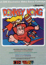 Donkey Kong Colecovision cover