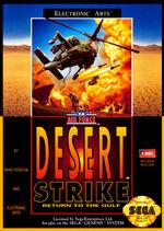 Desert Strike MD cover