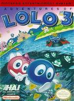 Adventure of Lolo 3 NES cover