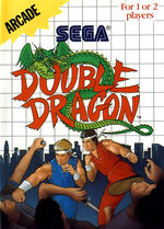 Double Dragon SMS box art