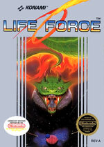Life Force NES cover