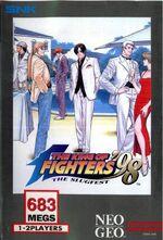 KoF98 NeoGeo Cover