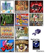 Top ten gamecube