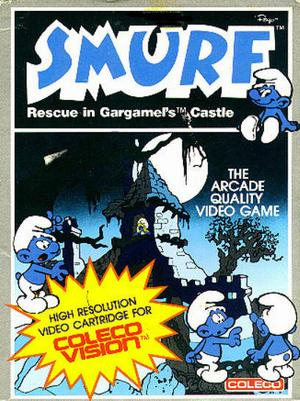 File:Smurf Rescue in Gargamels Castle Colecovision cover.jpg