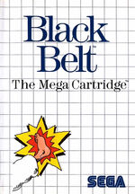 Black Belt SMS box art