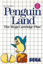 Penguin Land SMS box art