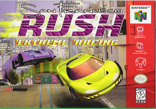 File:San Francisco Rush Extreme Racing for N64, Front Cover.jpg
