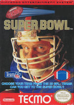 Tecmo Super Bowl NES cover