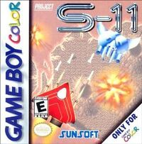 Project S-11 GBC cover