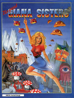 The Great Giana Sisters Amiga cover