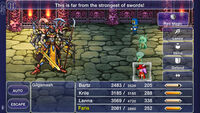 Final Fantasy V iOS