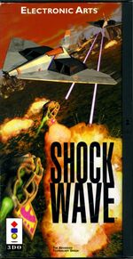 Shock Wave 3DO cover