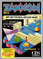 Zaxxon Colecovision cover