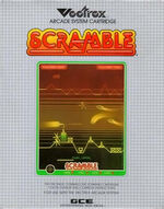 Scramble Vectrex cover