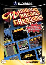 Midway Arcade Treasures GC cover