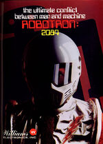 Robotron 2084 arcade flyer