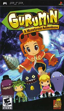 File:Gurumin - A Monstrous Adventure Coverart.png