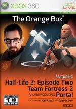 The Orange Box Xbox 360 cover
