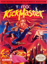 Kick Master NES cover