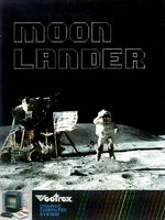 Moon Lander Vectrex cover