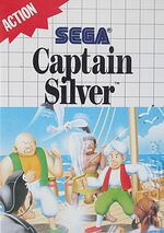 Captain Silver SMS box art