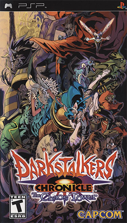 File:Darkstalkers Chronicle - The Chaos Tower Coverart.png