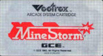 Mine Storm Vectrex cover