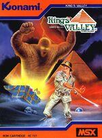 Kings Valley MSX cover