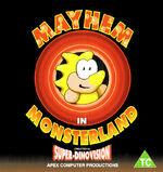 Mayhem in Monsterland C64 cover