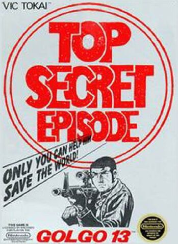 File:Golgo 13 Top Secret Episode NES cover.jpg