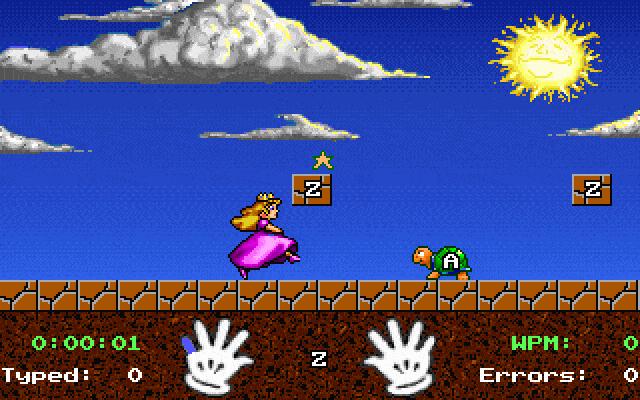 File:Mario Teaches Typing Mac screenshot.png