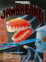 Atari 2600 Jawbreaker box art