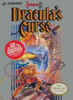 Castlevania 3 NES cover
